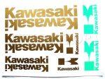 DECAL SET KAWASAKI /GOLD/