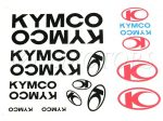 DECAL SET KYMCO /BLACK/