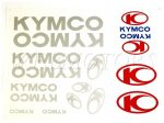 DECAL SET KYMCO /SILVER/