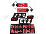 MZ ETZ 125 MATRICA KLT. A/4