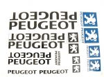 PEUGEOT  MATRICA KLT. PEUGEOT NAGY /FEKETE/